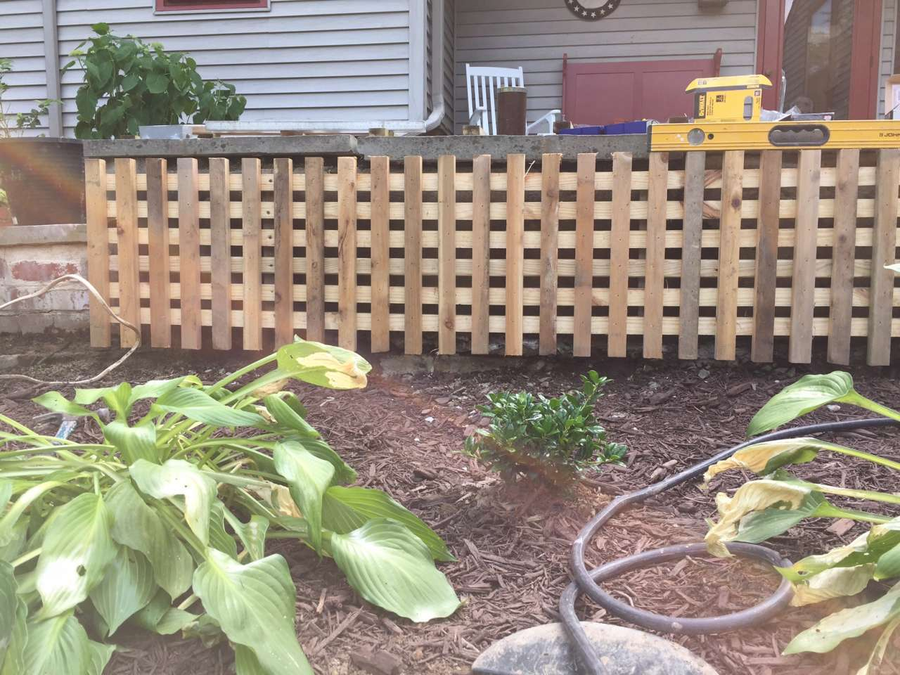 DIY lattice