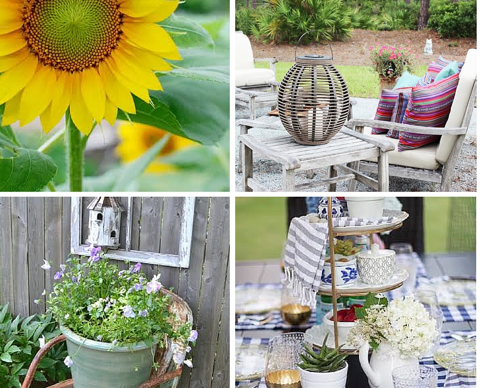 Summer Garden tour and blog hop