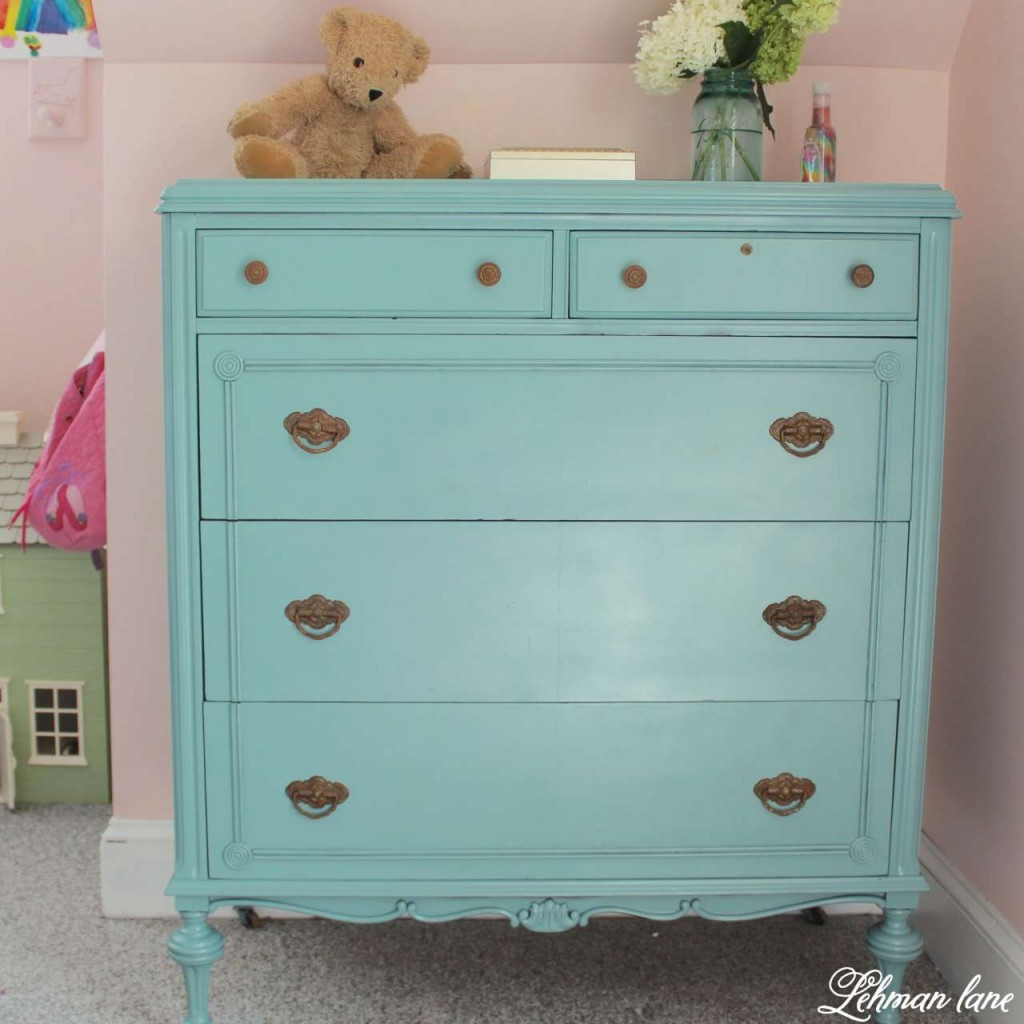 Tall dresser - antique farmhouse dresser redo