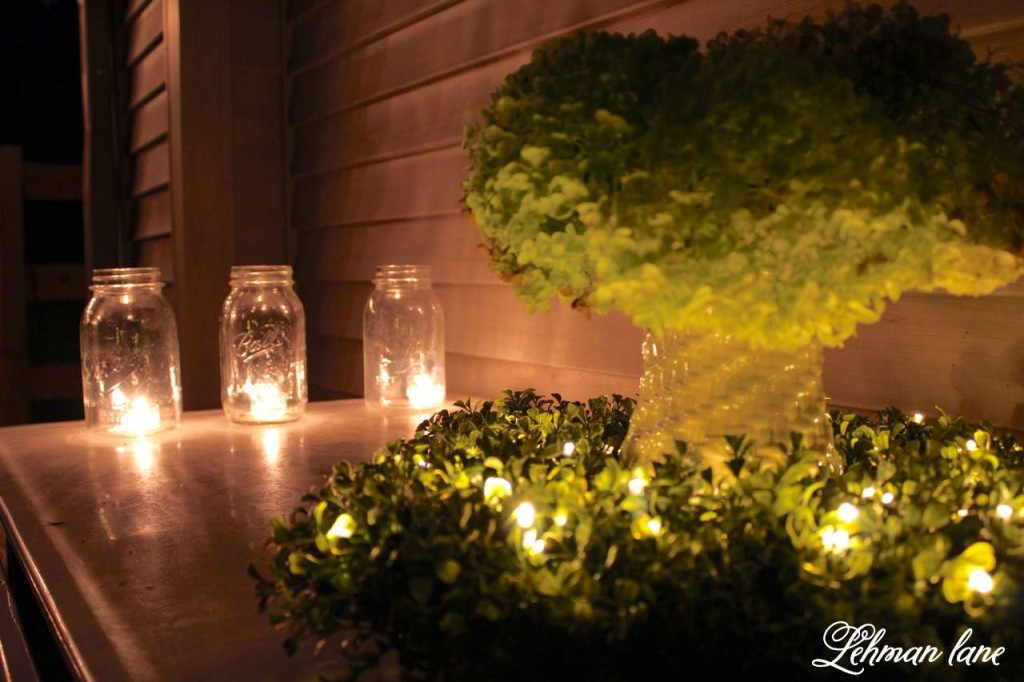 balsam-hill-light-up-the-night-summer-housewalk-2016 square boxwood wreath - summer garden party on the deck 14