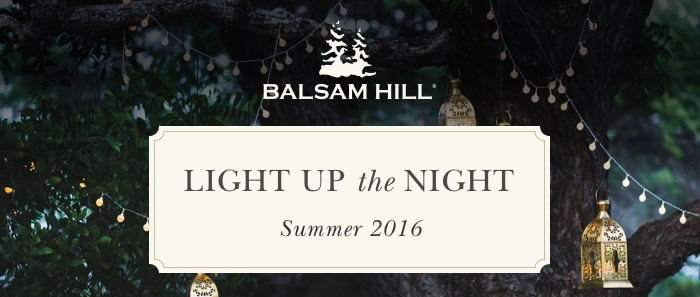 Balsam HIll Light up the night summer 2016 - garden party on the deck #BalsamHill #SummerHousewalk #LightUpTheNight2016