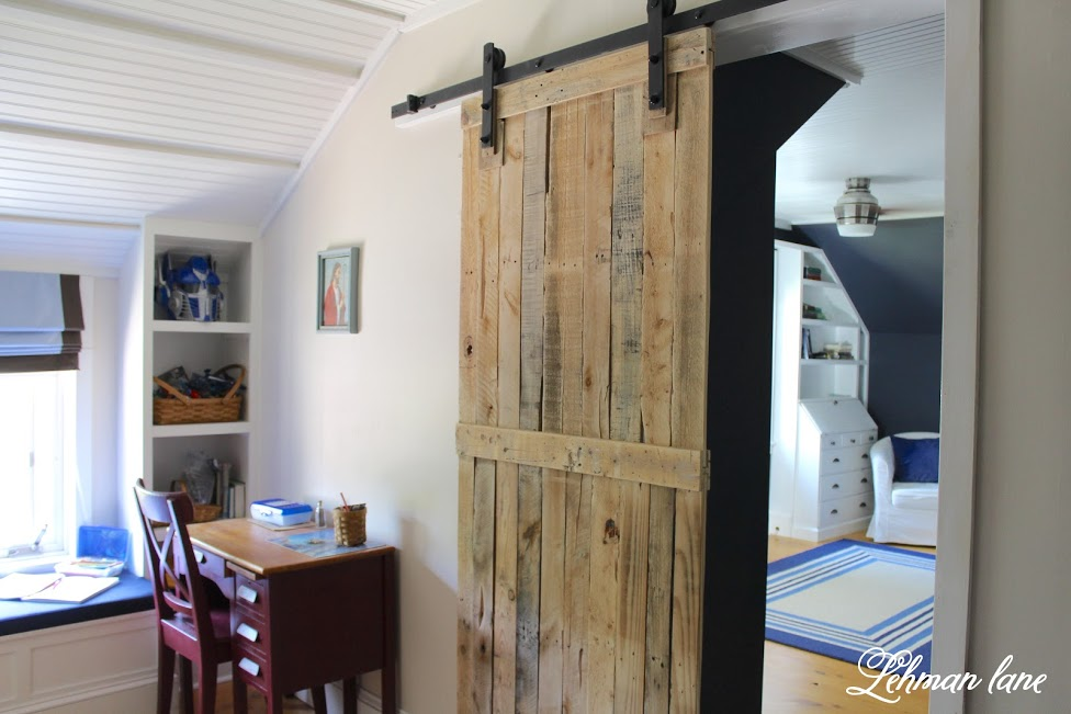 farmhouse summer tour pallet door