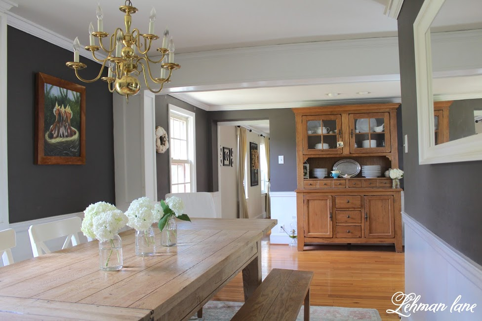 farmhouse summer tour dining room hutch