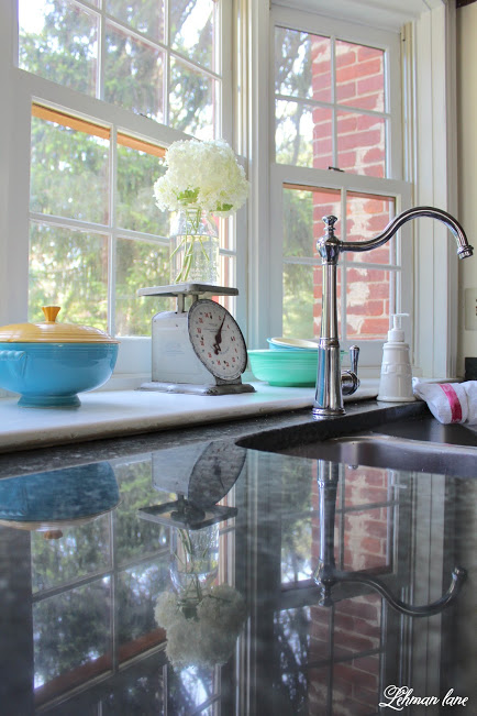 farmhouse summer tour kitchen sink