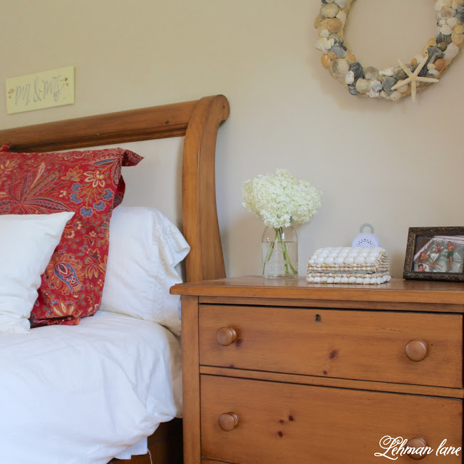 farmhouse summer tour master bedroom
