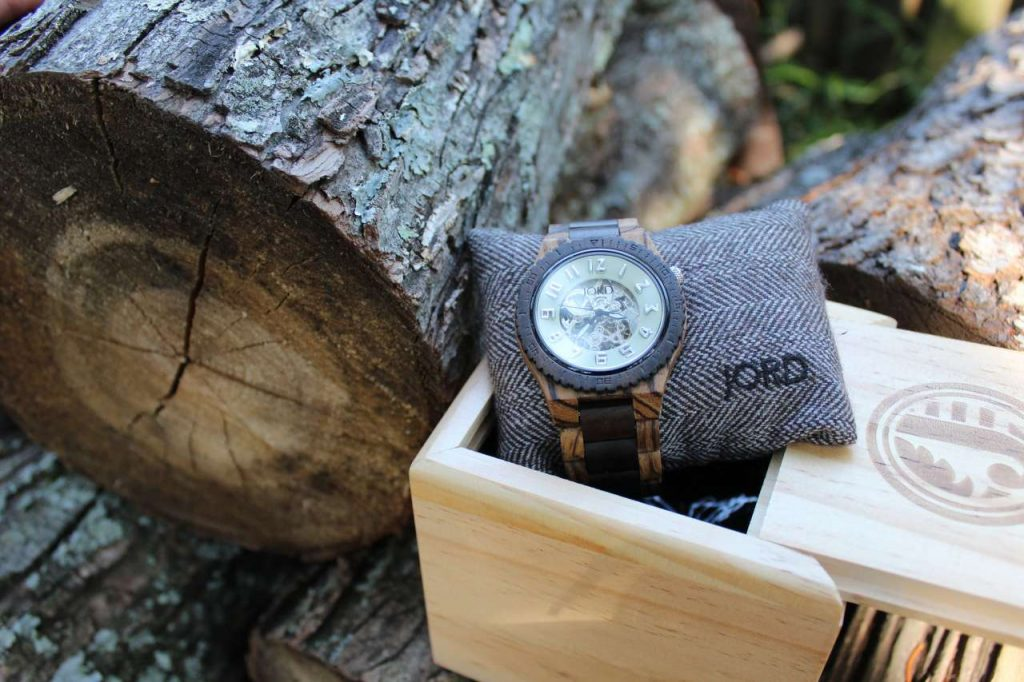 Jord DoverZebrawood and Sandalwood men's watch #lehmanlane