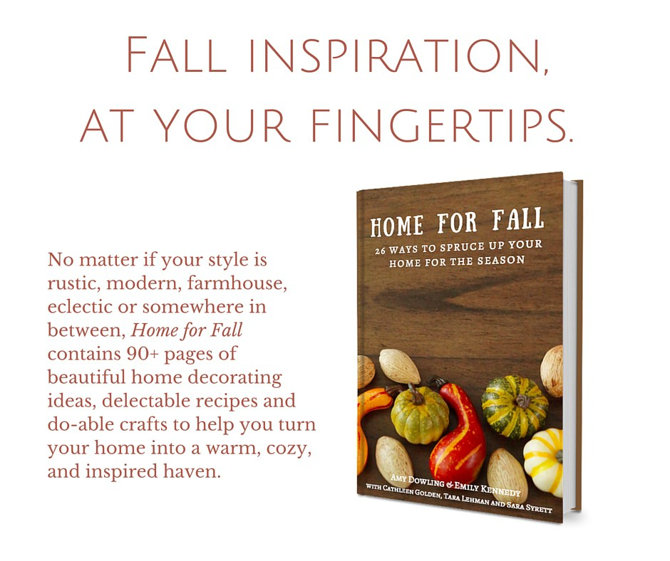 home for fall - fall at your fingertips