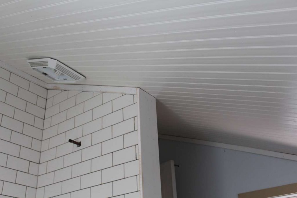 DIY - PVC - Bead Board Ceiling