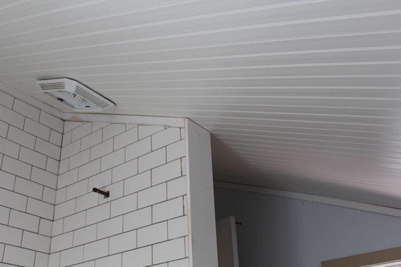 DIY - PVC - Bead Board Ceiling