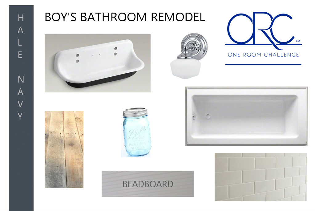 ORC - boys bathroom ideas and remodel