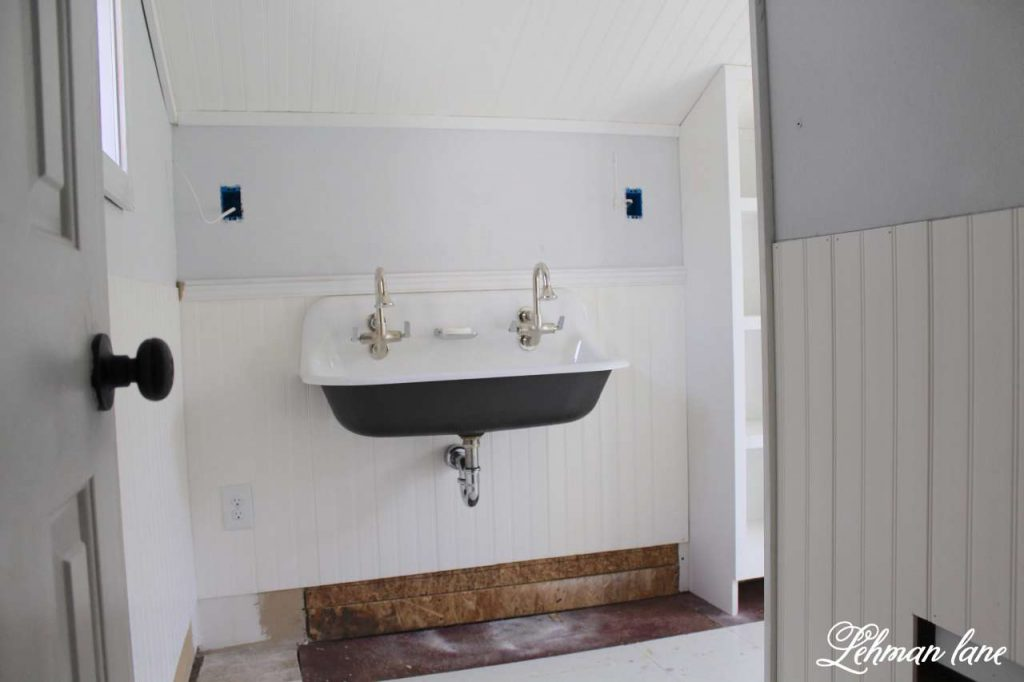 Kohler Brockway Sink - Boys Bathroom Remodel - ORC - Week 5