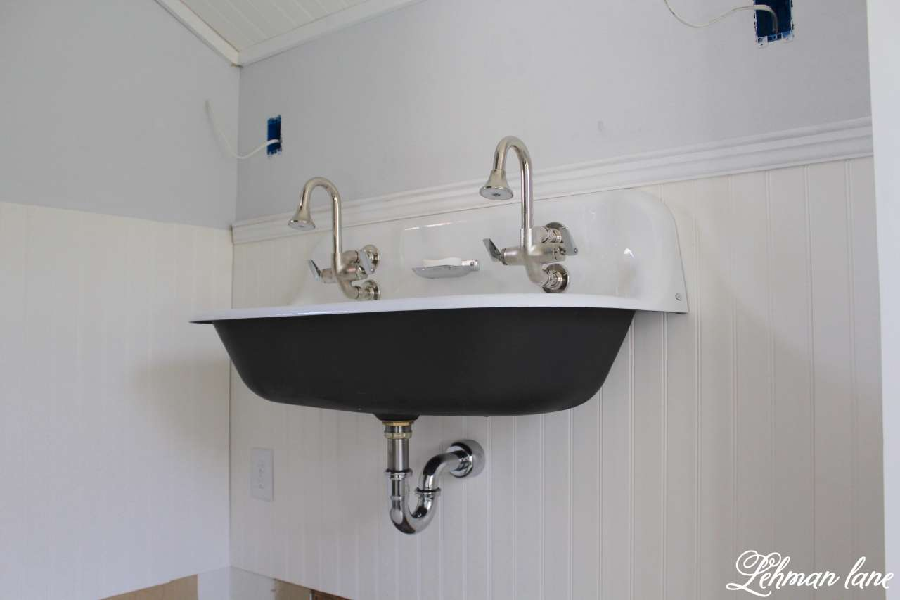 Wall Mounted Kohler Brockway Sink - ORC - Week 5 - Lehman Lane