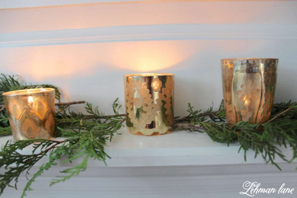 A Very Farmhouse Christmas Home Tour - candles