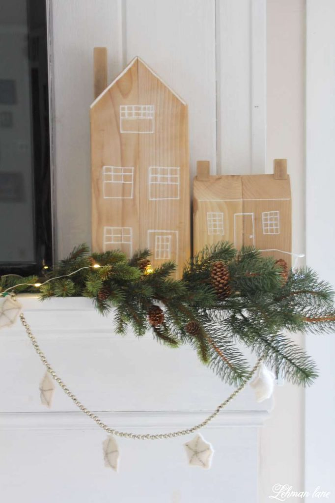 A Very Farmhouse Christmas Home Tour - cedar post house