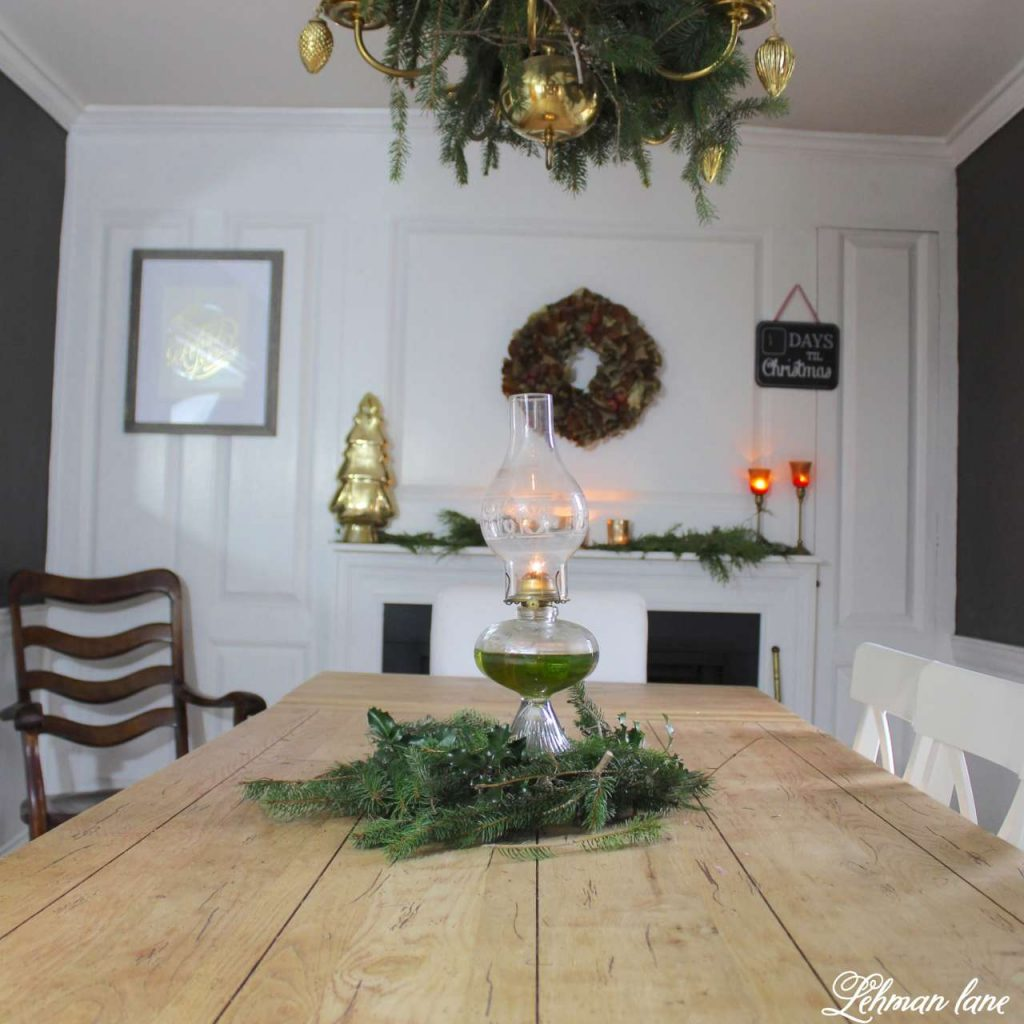 A Very Farmhouse Christmas Home Tour - the dining room