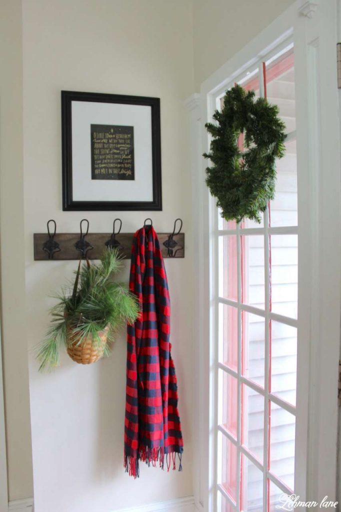 A Very Farmhouse Christmas Home Tour - entryway
