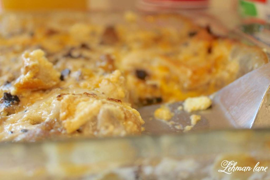 Egg and Sausage Casserole Recipe - This is our family's favorite holiday breakfast recipe