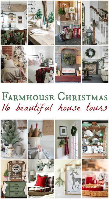 16 Farmhouse Christmas Tours