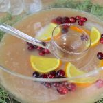 Holiday Champagne Punch Recipe