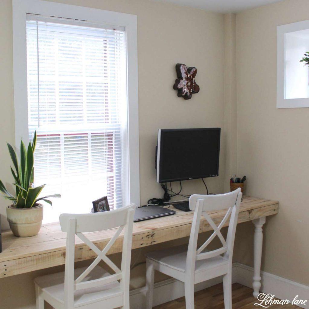 window desk shelves diy desks bay bookshelves seat furniture