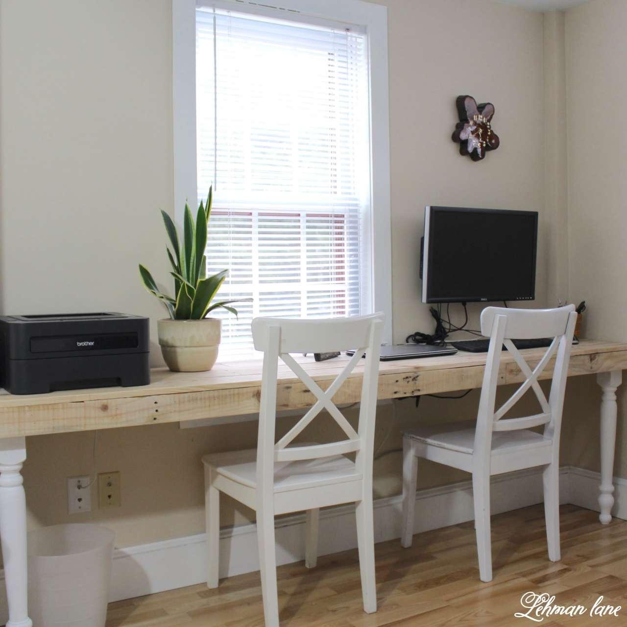 DIY - Pallet Desk