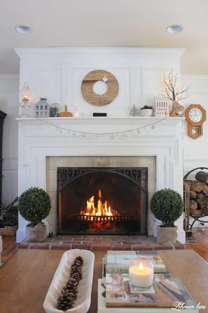 WInter Home Tour - fireplace