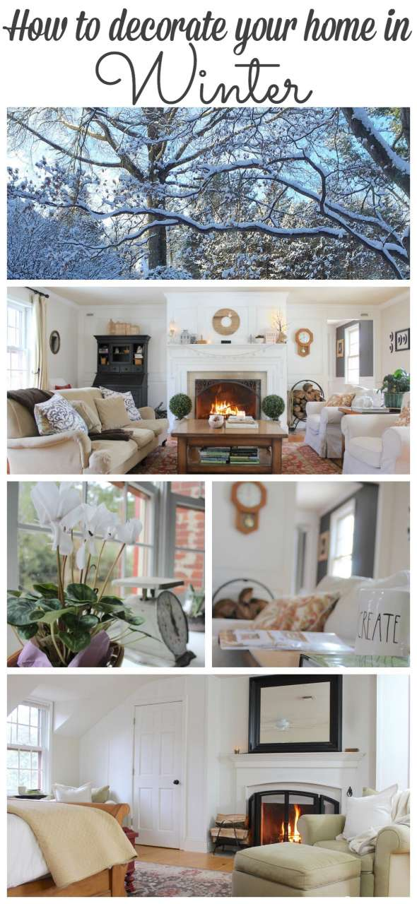 Winter can be a dark and dreary time of year but your winter decorating doesn't have to be. Stop by to see my Winter Home tour along with 8 more winter home tours! #winter #hometour http://lehmanlane.net