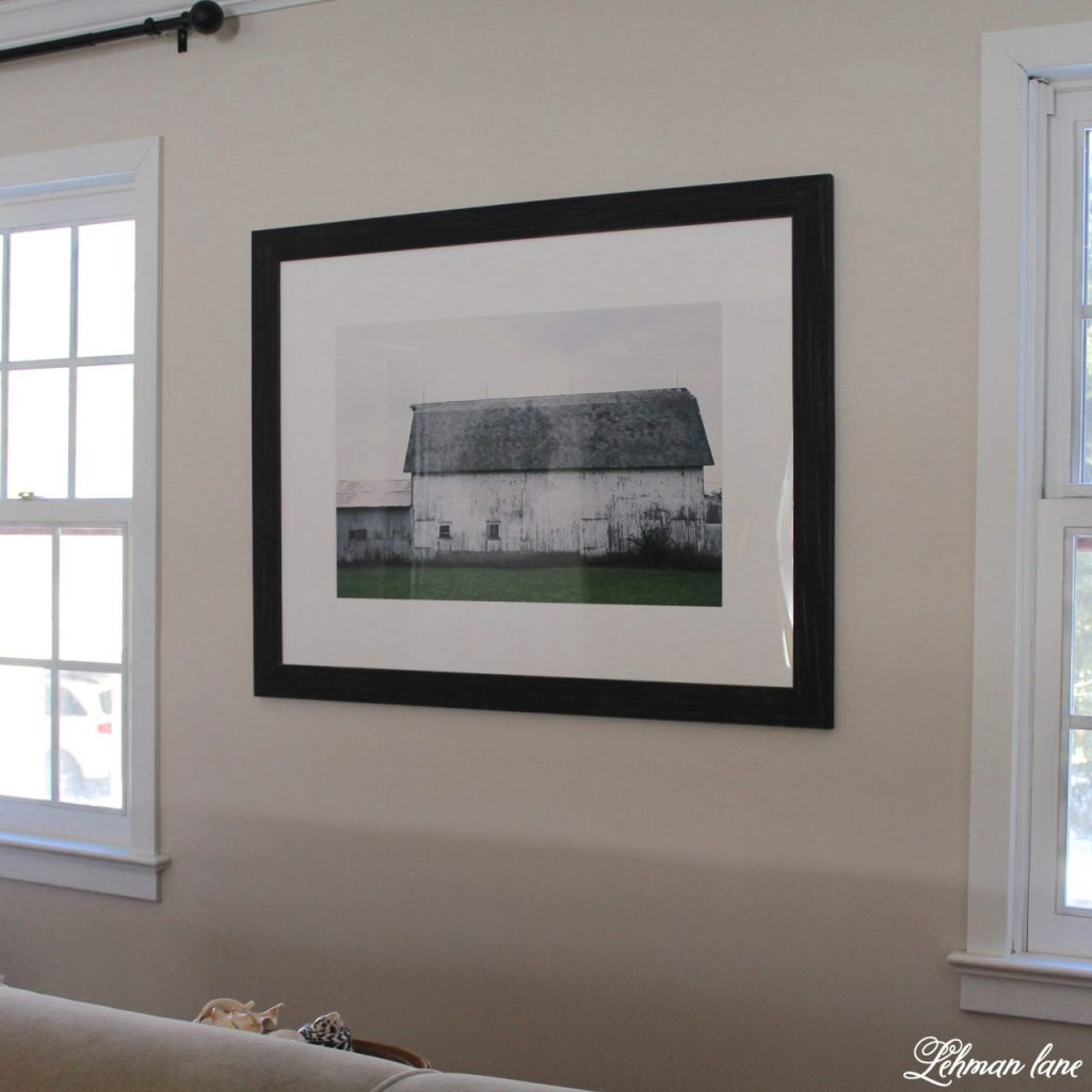 Artwork Refresh with Minted in the living room #ad