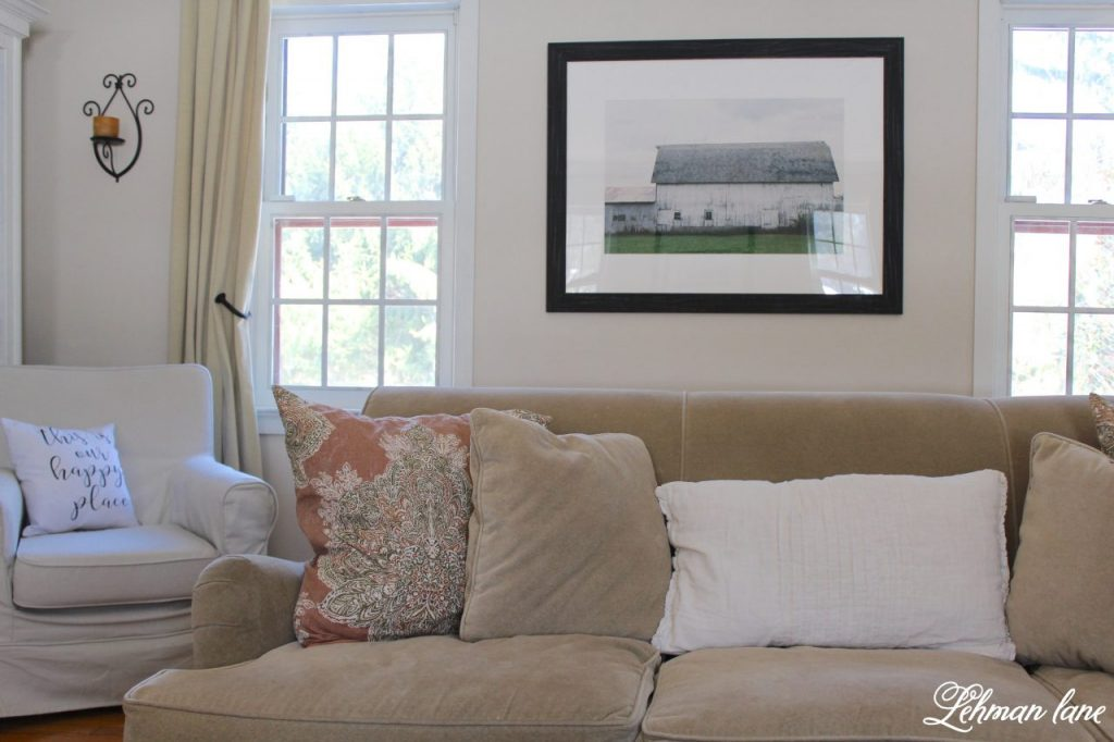 Artwork Refresh with Minted in the living room - sofa #ad