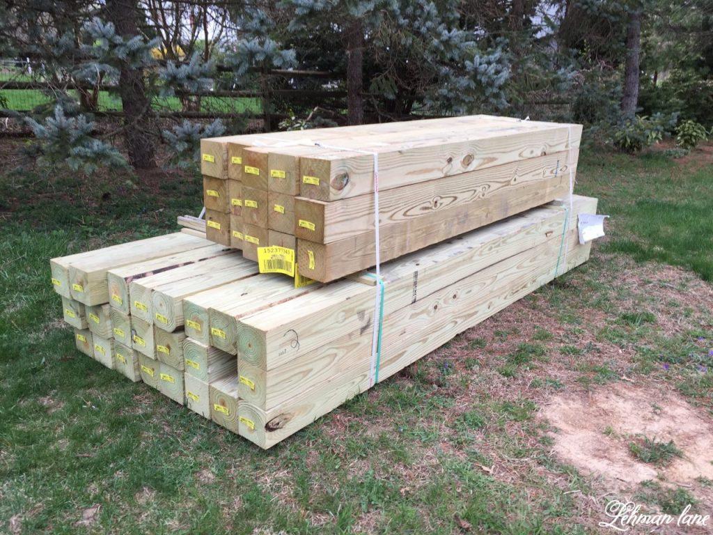 Building a wood retaining wall lehman lane building a wood retaining wall solutioingenieria Gallery
