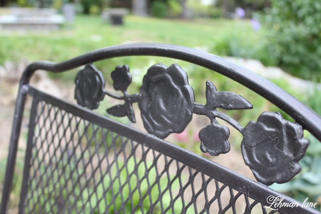 How To Spray Paint Wrought Iron Patio Furniture