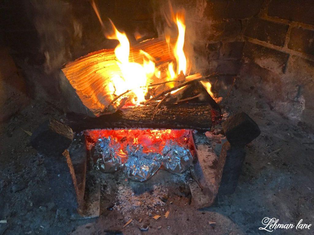 Banana Boat Recipe - The BEST Campfire Dessert - in fire
