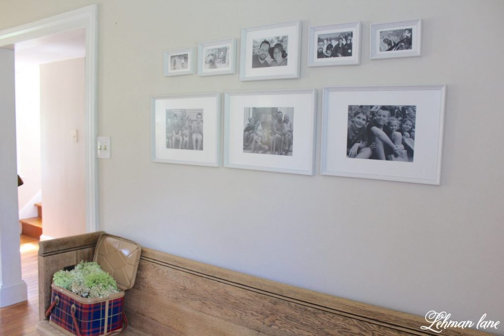 Family Photo Wall - the easiest gallery wall ever