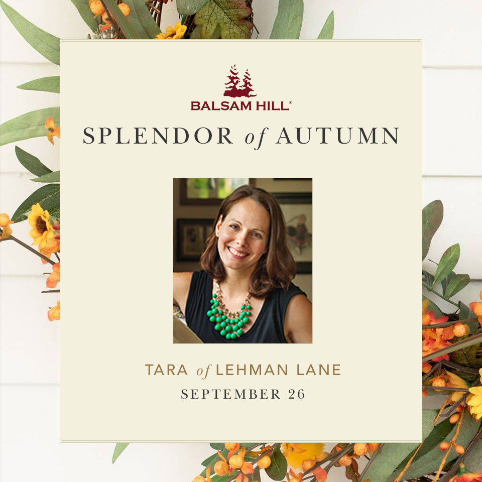 Splendor of Home Tour with Balsam Hill - Lehman lane