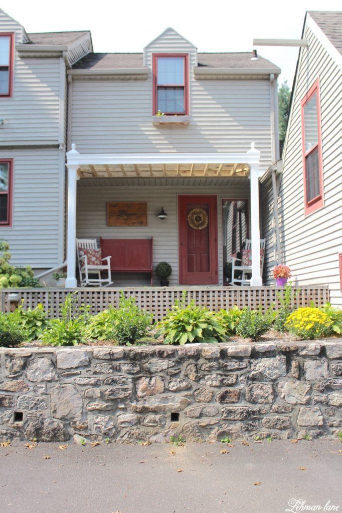 front porch pergola for our farmhouse