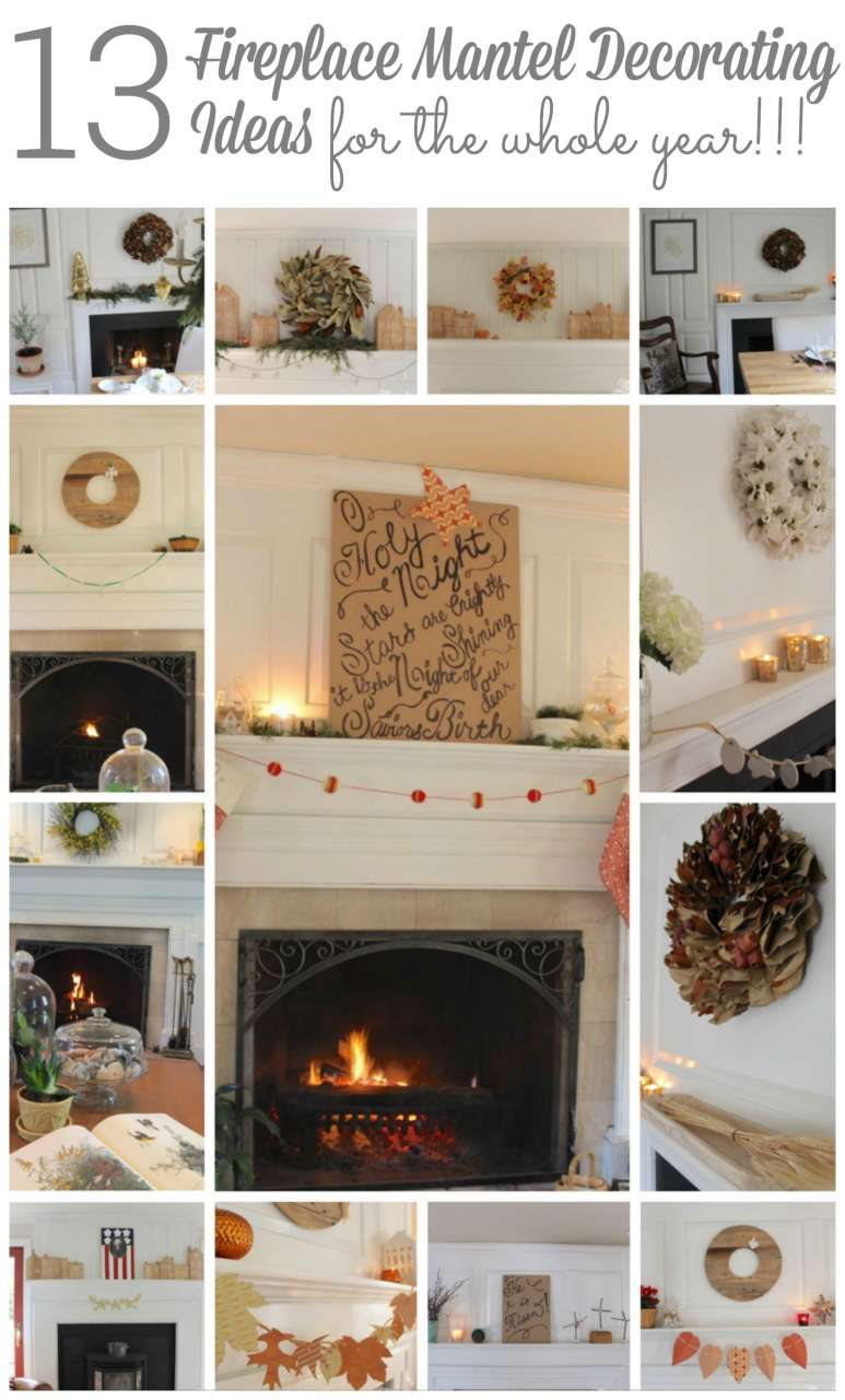 Donu0027t Forget To Pin My Fireplace Mantel Decorating Ideas!!!