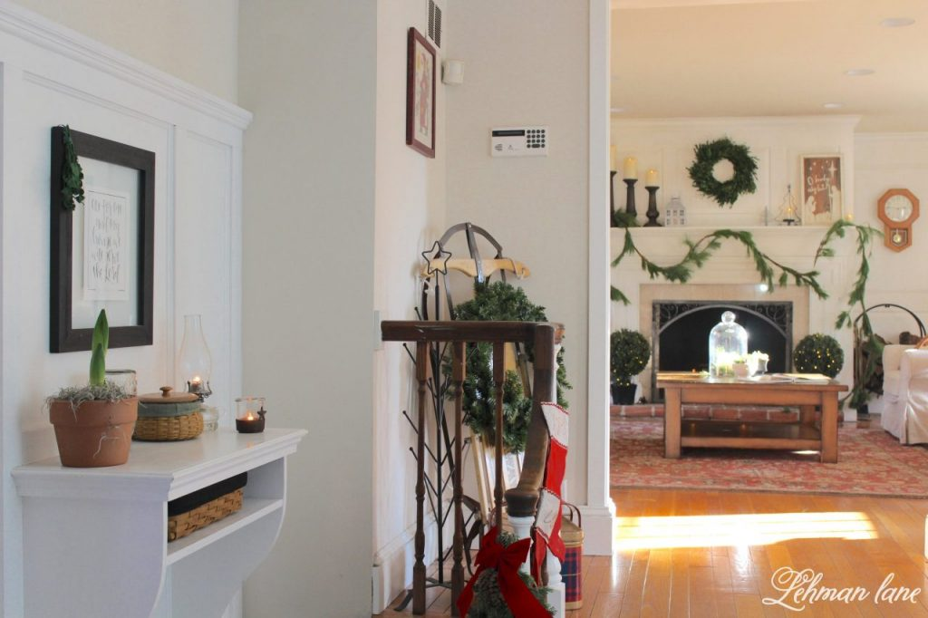 Christmas Home Tour - entryway