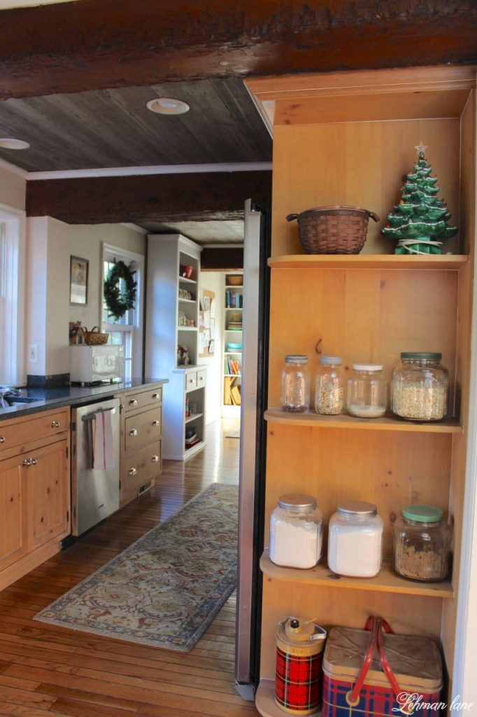 Christmas Home Tour - farmhouse kitchen
