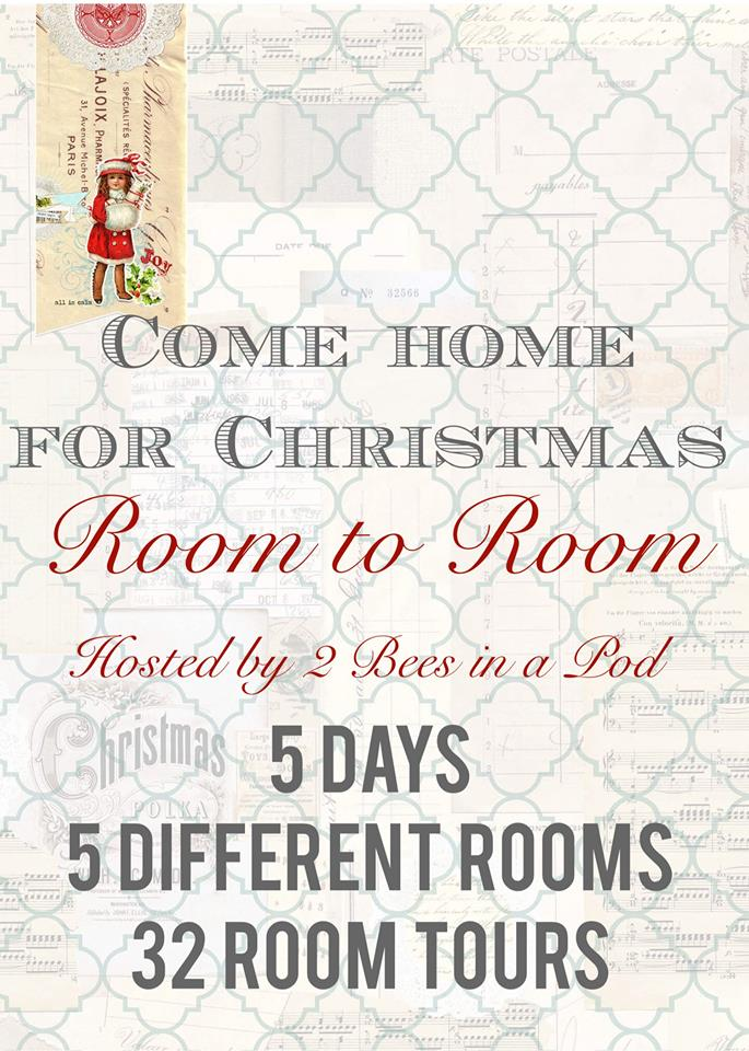 Christmas entryway - room by room tours