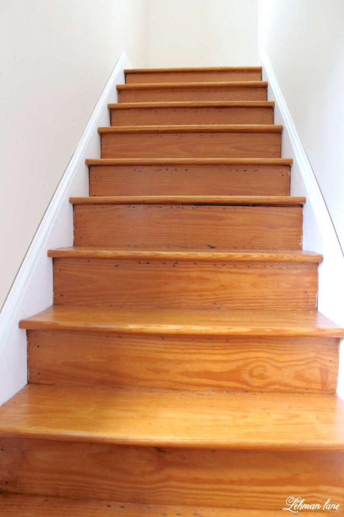 DIY - Refinishing Our Farmhouse Stairs