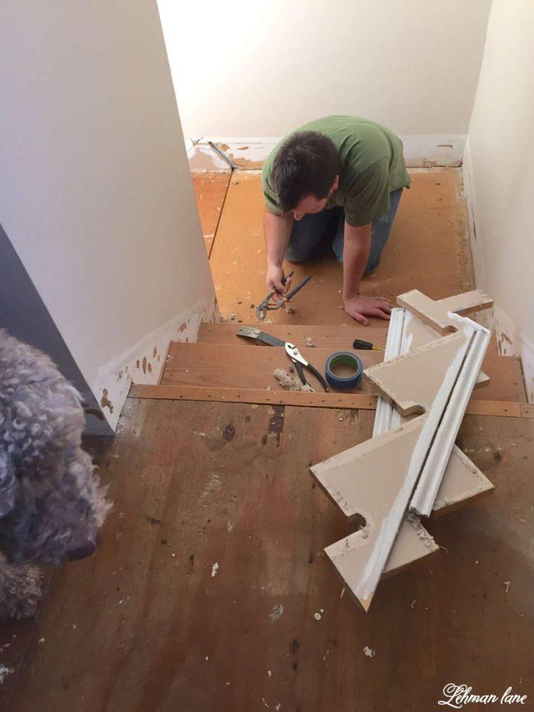 Refinishing Our Farmhouse Stairs Lehman Lane