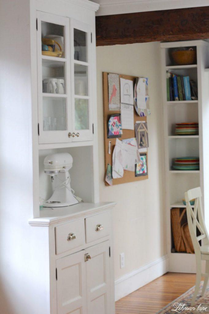 Refinishing a Stepback Cupboard - kitchen