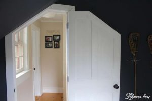 4 DIY House Projects to GiveYour Home More Farmhouse Character - DIY Building an Angled Door