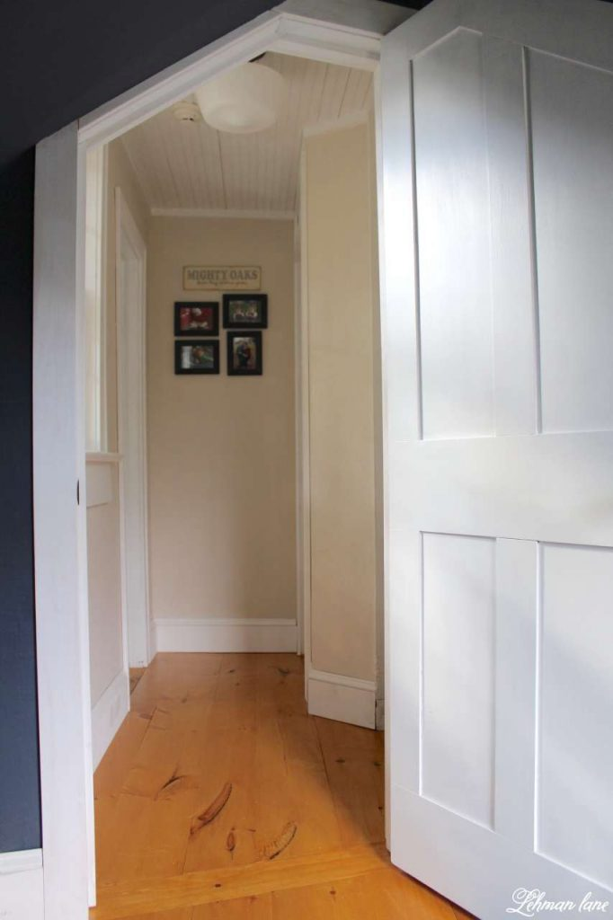Farmhouse Hallway - changing the Doorway