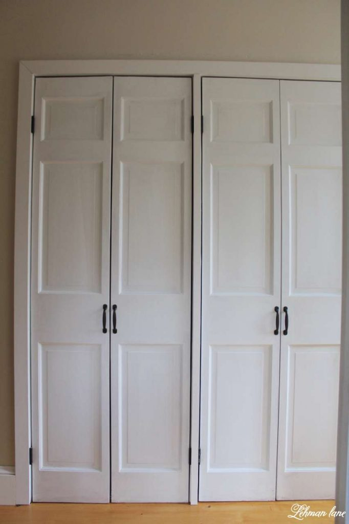 DIY - Closet Door Makeover - Bi-fold to Hinged