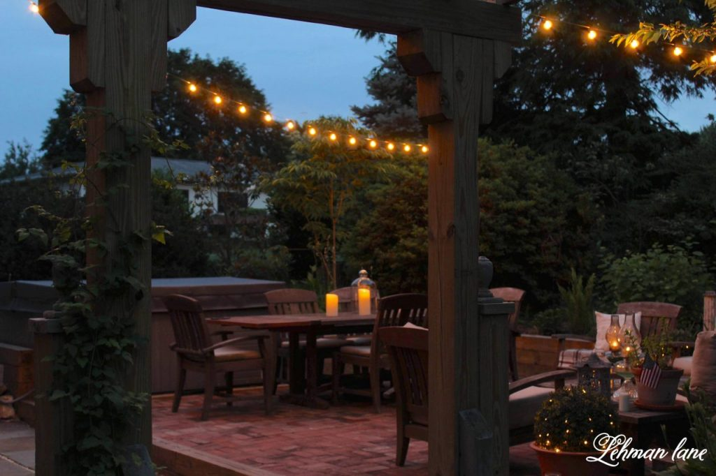 5 Inexpensive Ideas For Outdoor Patio Lights