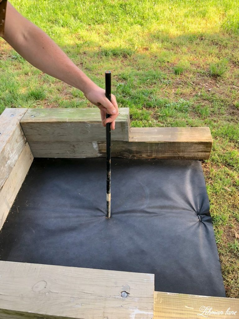 Diy How To Build A Horseshoe Pit Today I Am Sharing All About