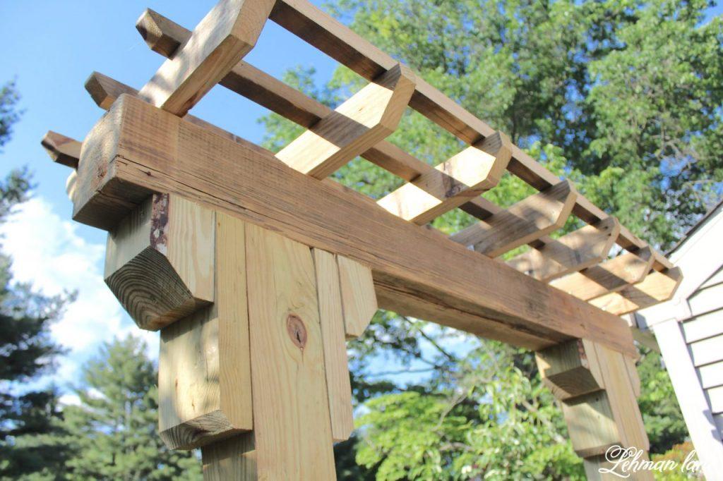 DIY Wooden Arbor