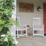 Summer Porch & Garden Tour - Today, I am so excited to share my summer porch & garden tour along with a few of my blogging friends. I hope your summer outdoor decorating & gardening will be inspired by all the summer garden tours, patios, backyard spaces & summer front porches we are sharing. #gardentour #summergarden #summerporch http://lehmanlane.net