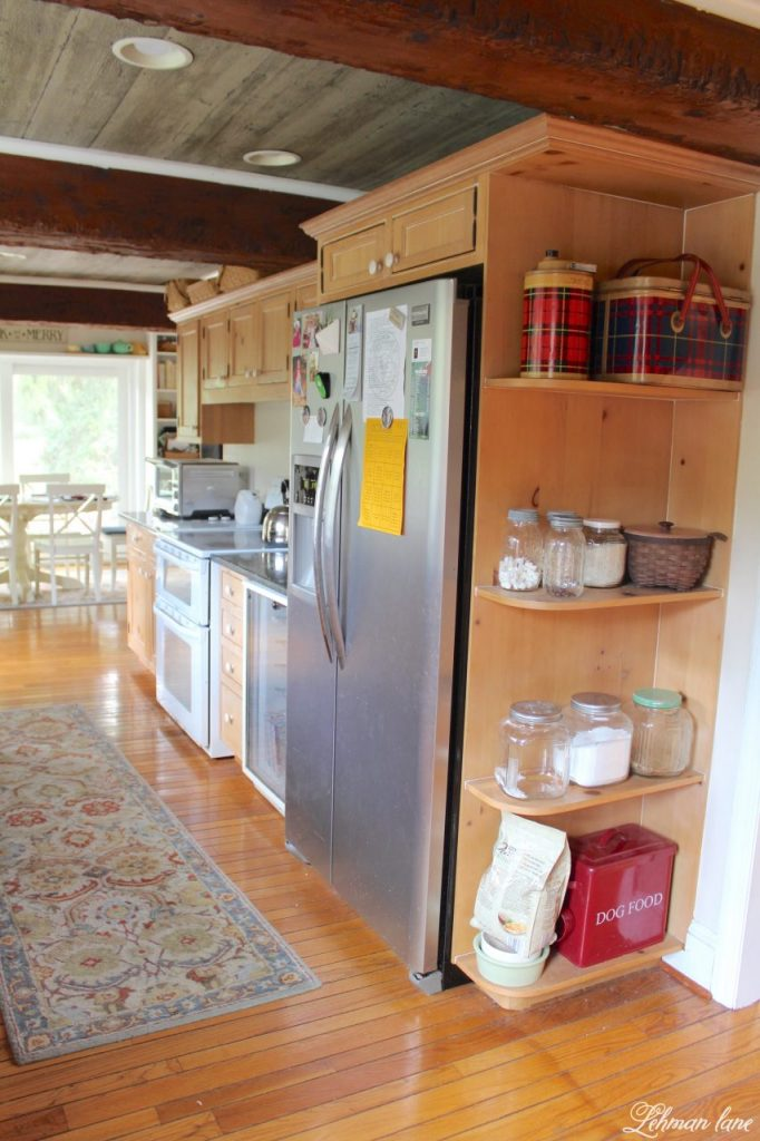 Farmhouse Kitchen Renovation - the Plan - fridge